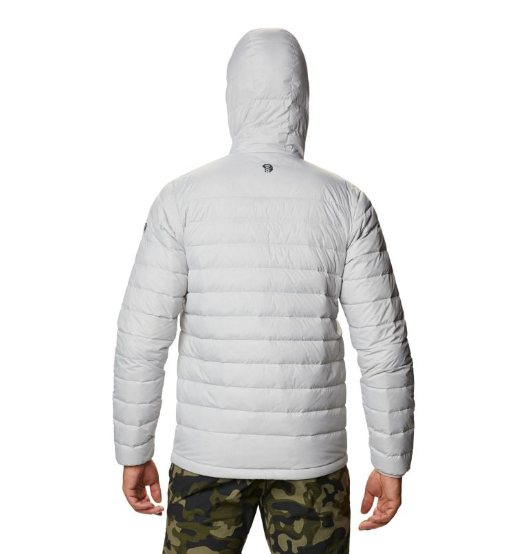 Hotlum™ M Hooded Jacket | 063 | L Men's Hotlum™ Hooded Down Jacket, Grey Ice, back
