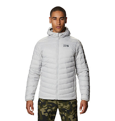 Men's Hotlum™ Hooded Down Jacket Hotlum™ M Hooded Jacket | 063 | L, Grey Ice, front