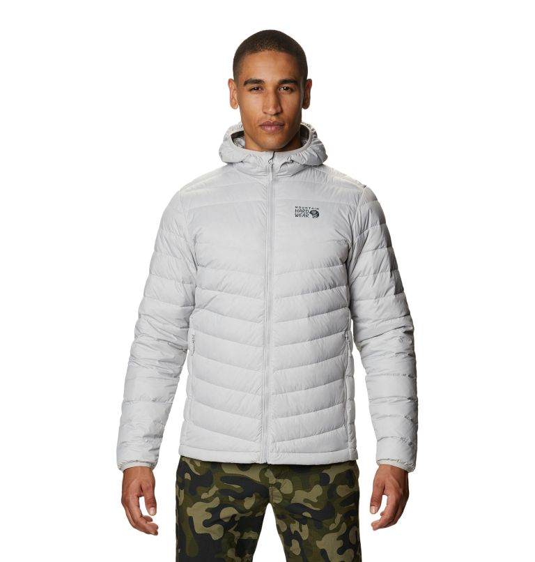 Hotlum™ M Hooded Jacket | 063 | L Men's Hotlum™ Hooded Down Jacket, Grey Ice, front