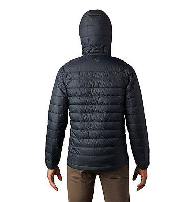 Men's Hotlum™ Hooded Down Jacket Hotlum™ M Hooded Jacket | 063 | L, Black, back