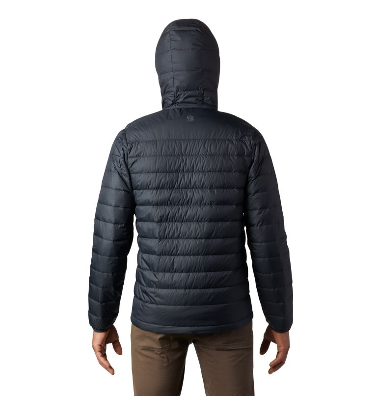 Hotlum™ M Hooded Jacket | 090 | XXL Men's Hotlum™ Hooded Down Jacket, Black, back