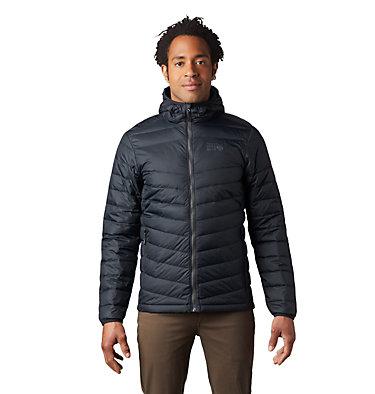 Men's Hotlum™ Hooded Down Jacket Hotlum™ M Hooded Jacket | 063 | L, Black, front