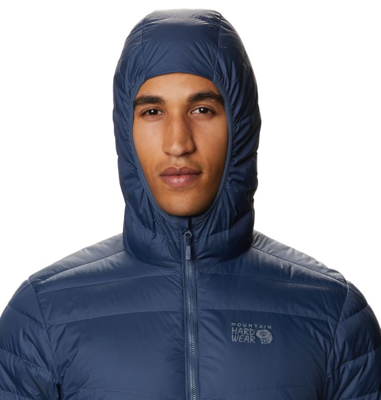 Hotlum™ M Hooded Jacket | 492 | XL Men's Hotlum™ Hooded Down Jacket, Zinc, a2