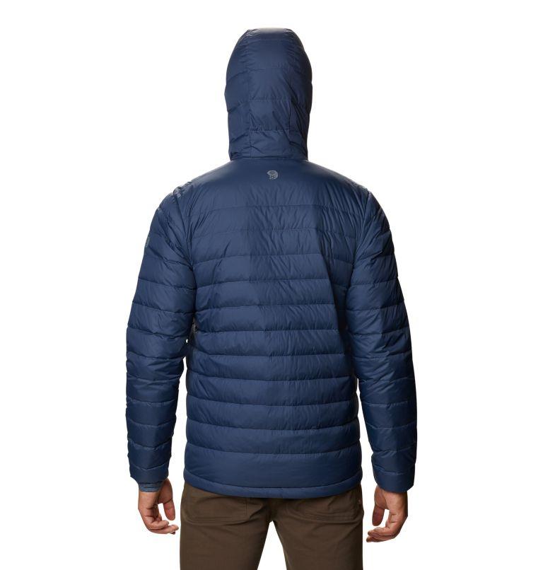 Hotlum™ M Hooded Jacket   492   XXL Men's Hotlum™ Hooded Down Jacket, Zinc, back
