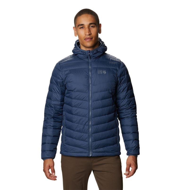 Hotlum™ M Hooded Jacket   492   XXL Men's Hotlum™ Hooded Down Jacket, Zinc, front