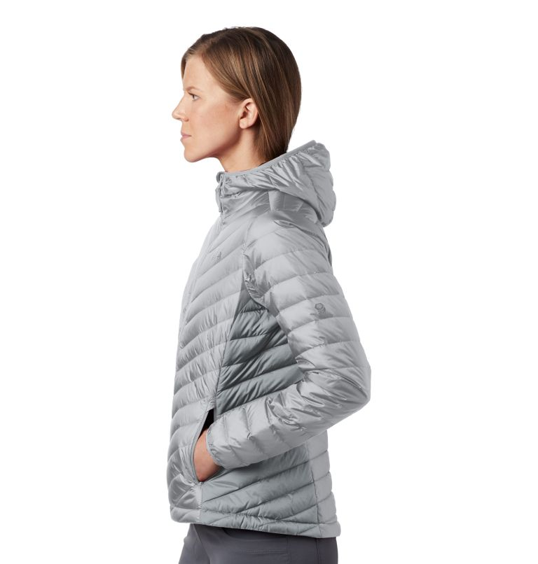 Hotlum™ W Hooded Jacket | 063 | XS Women's Hotlum™ Hooded Down Jacket, Grey Ice, a1