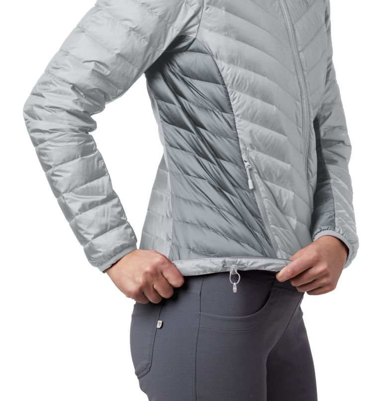Hotlum™ W Hooded Jacket | 063 | M Women's Hotlum™ Hooded Down Jacket, Grey Ice, a2