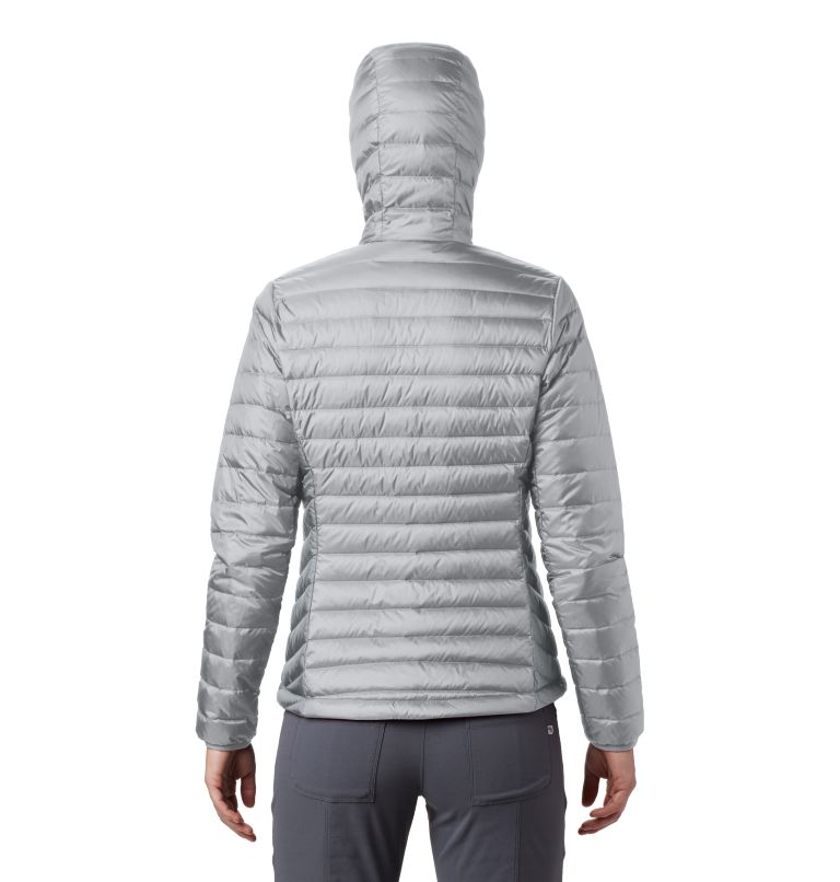 Hotlum™ W Hooded Jacket | 063 | XS Women's Hotlum™ Hooded Down Jacket, Grey Ice, back