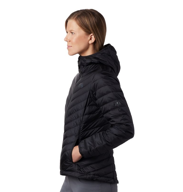 Hotlum™ W Hooded Jacket | 090 | M Women's Hotlum™ Hooded Down Jacket, Black, a1
