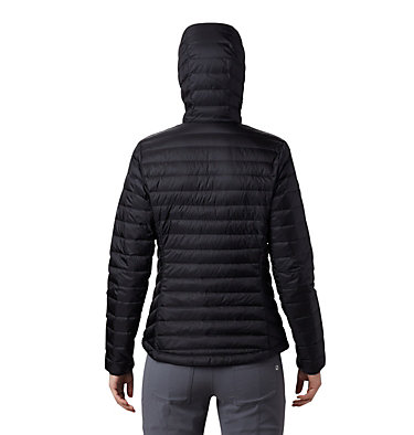 Women's Hotlum™ Hooded Down Jacket Hotlum™ W Hooded Jacket | 063 | L, Black, back