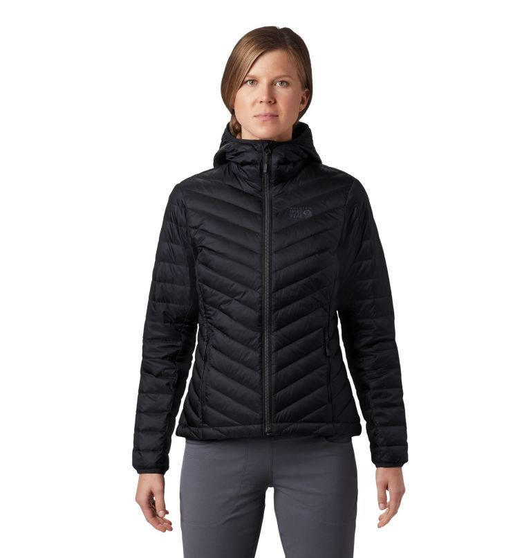 Hotlum™ W Hooded Jacket | 090 | XL Women's Hotlum™ Hooded Down Jacket, Black, front