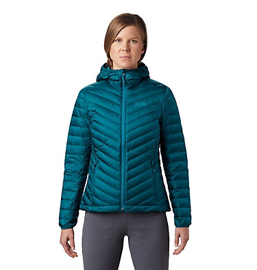 Women's Hotlum™ Hooded Down Jacket Hotlum™ W Hooded Jacket | 063 | L, Dive, front