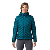Deals on Mountain Hardwear Womens Hotlum Hooded Down Jacket