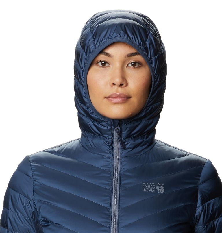 Hotlum™ W Hooded Jacket | 492 | S Women's Hotlum™ Hooded Down Jacket, Zinc, a2