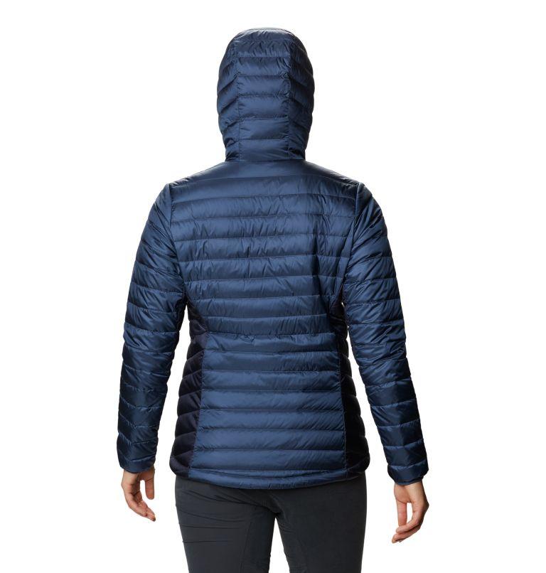 Hotlum™ W Hooded Jacket | 492 | S Women's Hotlum™ Hooded Down Jacket, Zinc, back