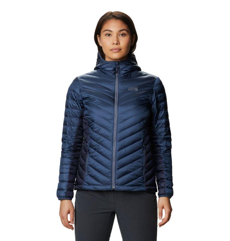 Hotlum™ W Hooded Jacket | 492 | S Women's Hotlum™ Hooded Down Jacket, Zinc, front