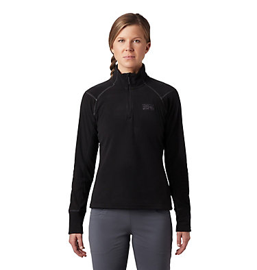Women's Boreal™ Pullover Boreal™ W Zip-T | 090 | L, Black, front