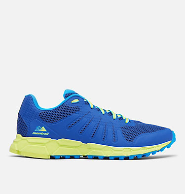 Men's F.K.T. Attempt Trail Running Shoe COLUMBIA MONTRAIL F.K.T.™ ATTEMPT | 088 | 11.5, Aviation, Acid Green, front