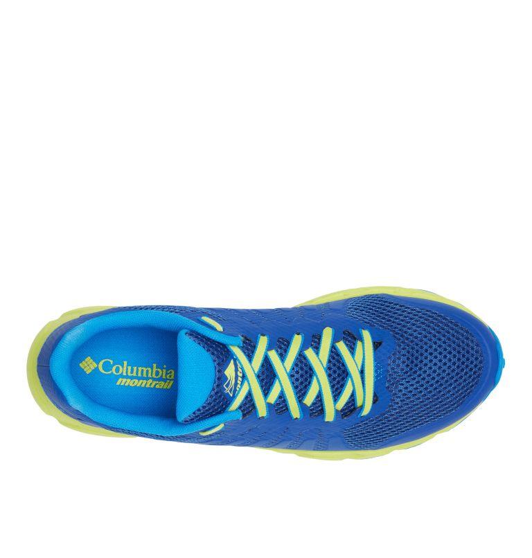COLUMBIA MONTRAIL F.K.T.™ ATTEMPT | 465 | 8.5 Men's F.K.T. Attempt Trail Running Shoe, Aviation, Acid Green, top