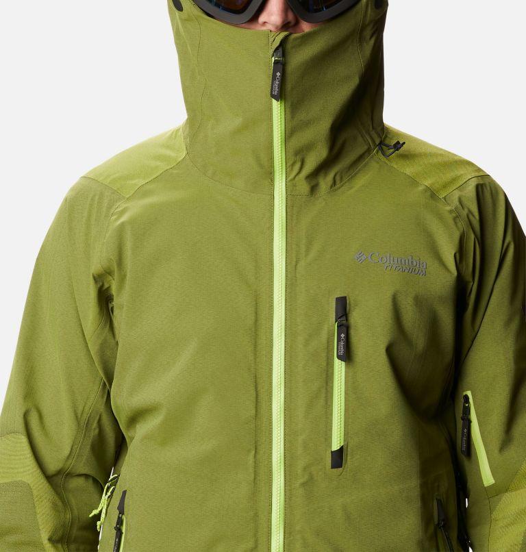 Powder Chute™ Shell | 386 | L Men's Powder Chute Ski Shell Jacket, Bright Chartreuse, a2