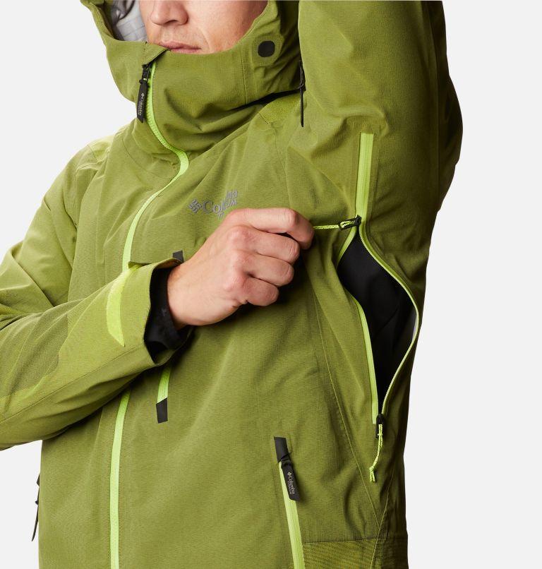 Powder Chute™ Shell | 386 | L Men's Powder Chute Ski Shell Jacket, Bright Chartreuse, a4