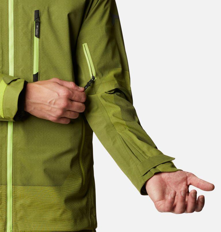 Powder Chute™ Shell | 386 | L Men's Powder Chute Ski Shell Jacket, Bright Chartreuse, a5