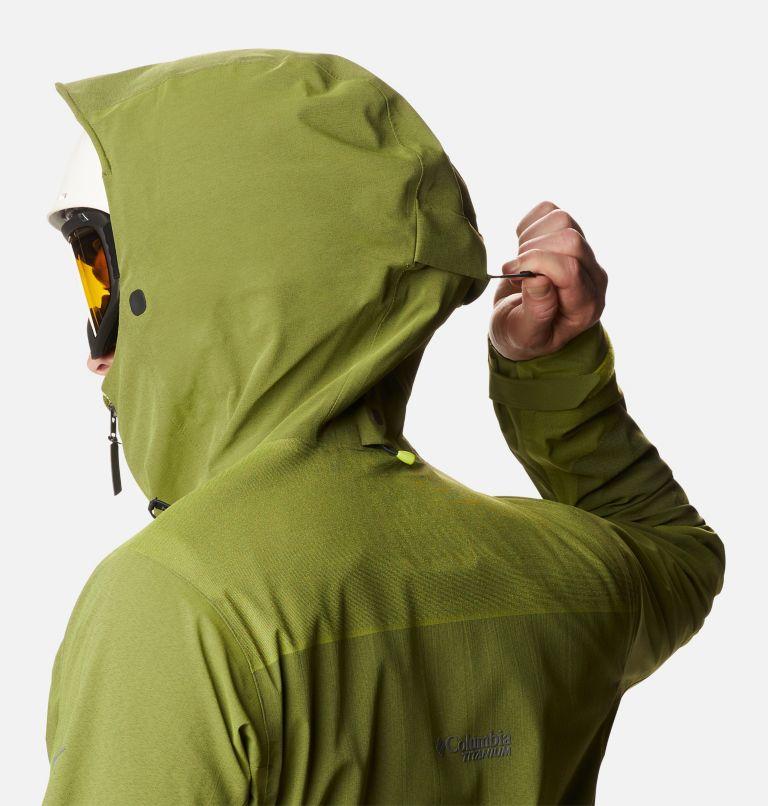 Powder Chute™ Shell | 386 | L Men's Powder Chute Ski Shell Jacket, Bright Chartreuse, a6