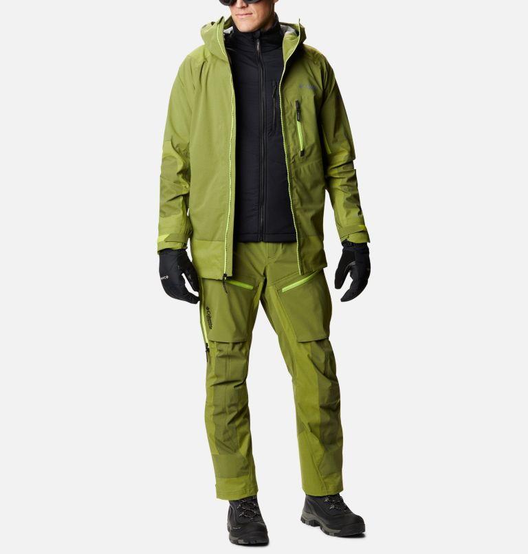 Powder Chute™ Shell | 386 | L Men's Powder Chute Ski Shell Jacket, Bright Chartreuse, a7