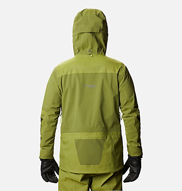 Veste Powder Chute homme Powder Chute™ Shell | 386 | L, Bright Chartreuse, back
