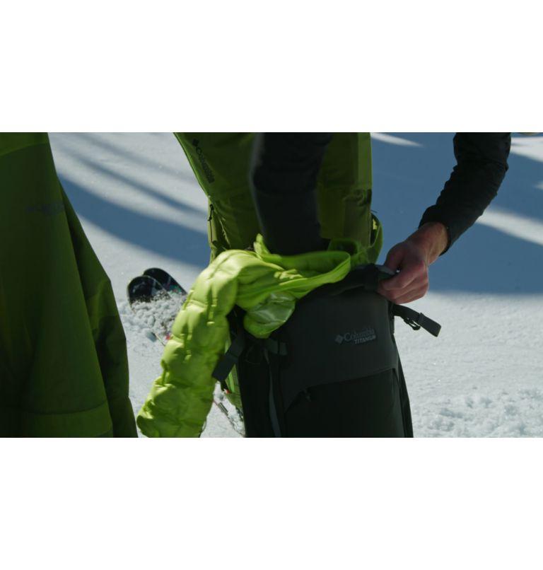 Powder Chute™ Shell | 386 | L Men's Powder Chute Ski Shell Jacket, Bright Chartreuse, video