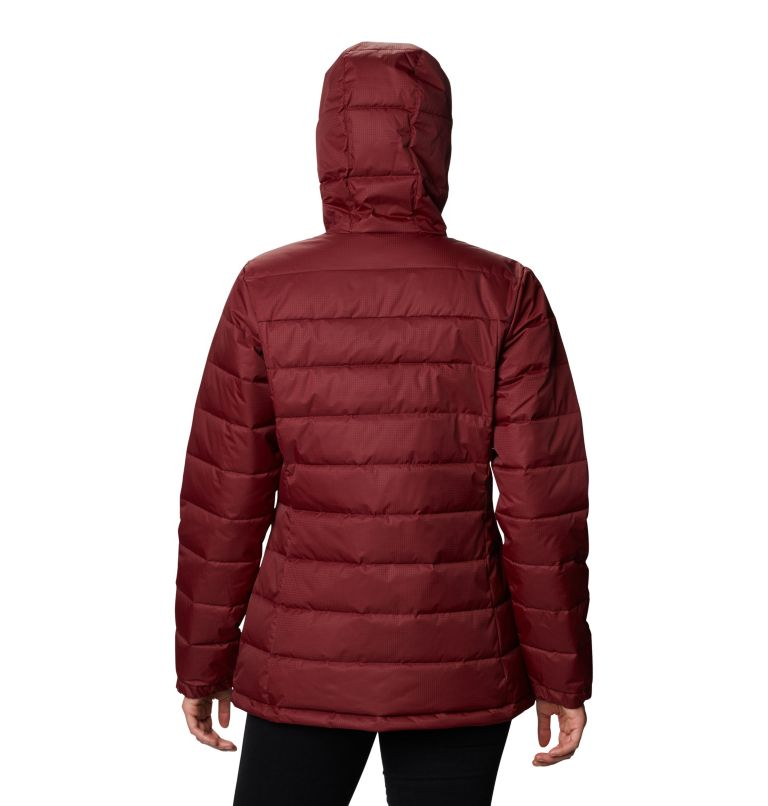 Pole Patch Pass™ EXS Jacket | 624 | XS Women's Pole Patch Pass™ Jacket, Rich Wine, back