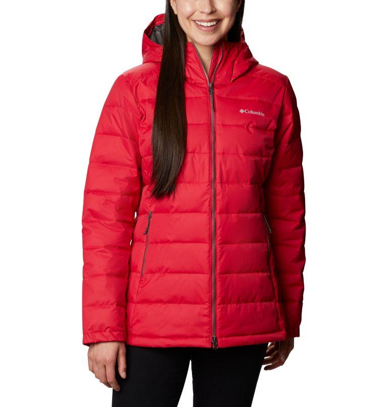 Pole Patch Pass™ EXS Jacket | 641 | XS Women's Pole Patch Pass™ Jacket, Red Mercury, front