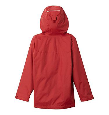 Kids' Blue Horse Falls Rain Jacket Blue Horse Falls™ EXS Jacket   611   L, Red Element, back