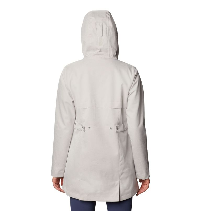 Ems™ EXS Jacket | 020 | S Women's Ems™ Jacket, Light Cloud Heather, back