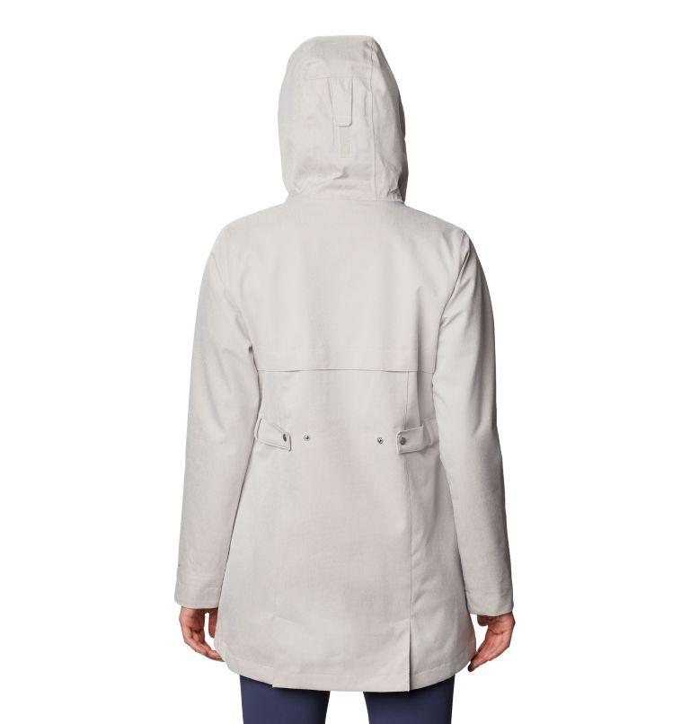 Ems™ EXS Jacket | 020 | XS Women's Ems™ Jacket, Light Cloud Heather, back