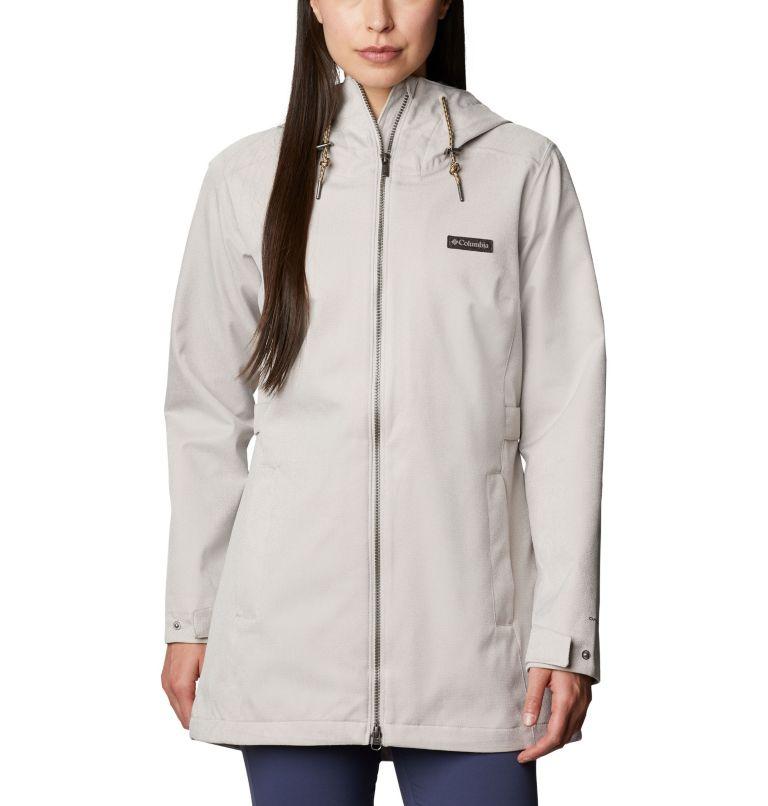 Ems™ EXS Jacket | 020 | XS Women's Ems™ Jacket, Light Cloud Heather, front