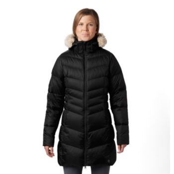 Mountain Hardwear Women's Emery Down Coat (Black or Peatmoss)