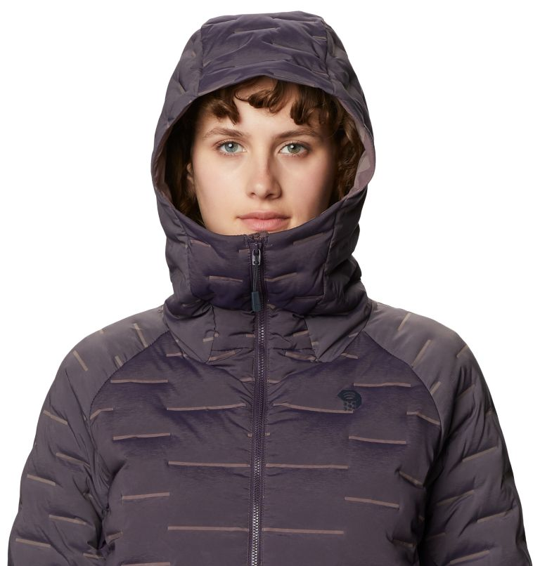 Stretchdown™ Hybrid Hoody | 599 | S Women's Stretchdown™ Hybrid Hoody, Blurple, a2