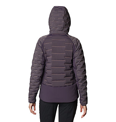 Women's Stretchdown™ Hybrid Hoody Stretchdown™ Hybrid Hoody | 599 | L, Blurple, back