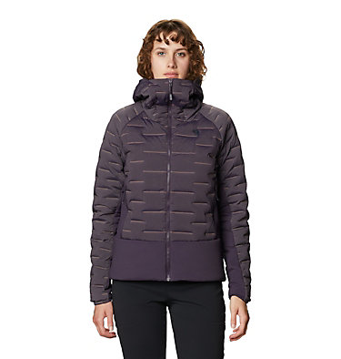 Women's Stretchdown™ Hybrid Hoody Stretchdown™ Hybrid Hoody | 599 | L, Blurple, front