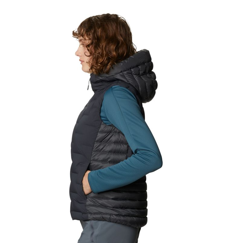 Super/DS™ Hybrid Vest | 004 | M Women's Super/DS™ Stretchdown Hybrid Vest, Dark Storm, a1