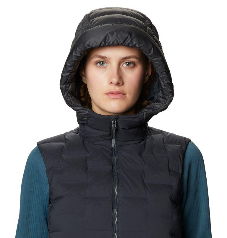 Super/DS™ Hybrid Vest | 004 | M Women's Super/DS™ Stretchdown Hybrid Vest, Dark Storm, a2