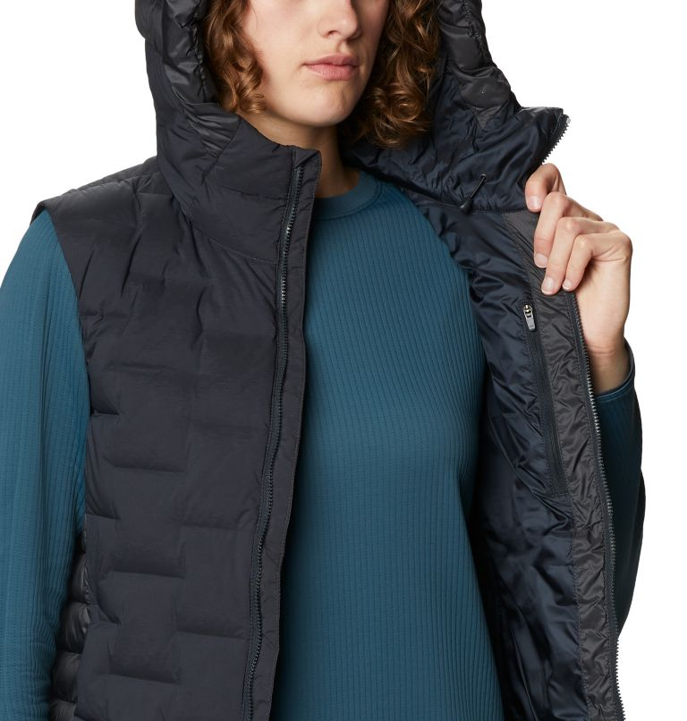 Super/DS™ Hybrid Vest | 004 | S Women's Super/DS™ Stretchdown Hybrid Vest, Dark Storm, a3