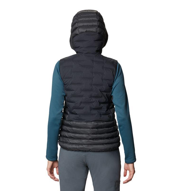 Super/DS™ Hybrid Vest | 004 | M Women's Super/DS™ Stretchdown Hybrid Vest, Dark Storm, back
