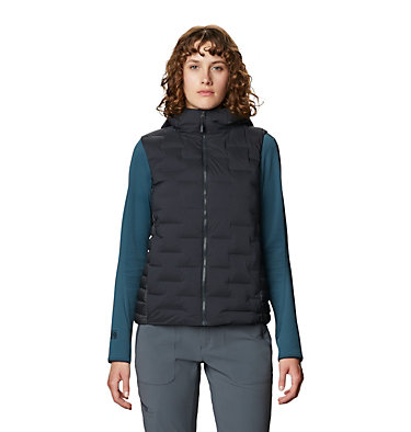 Women's Super/DS™ Stretchdown Hybrid Vest Super/DS™ Hybrid Vest   324   L, Dark Storm, front