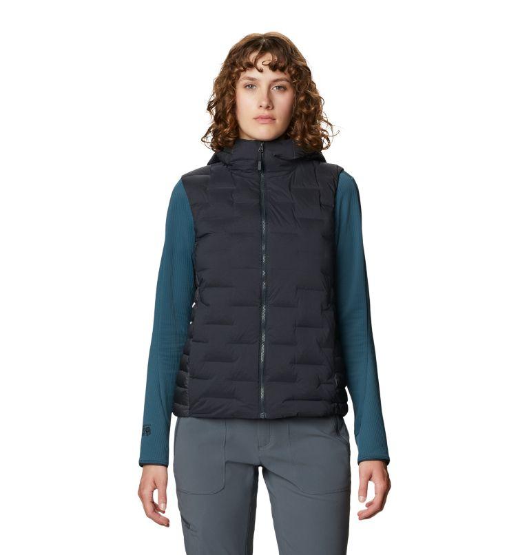 Super/DS™ Hybrid Vest | 004 | M Women's Super/DS™ Stretchdown Hybrid Vest, Dark Storm, front