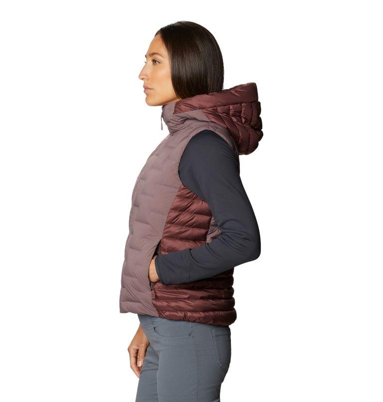 Super/DS™ Hybrid Vest   249   XS Women's Super/DS™ Stretchdown Hybrid Vest, Warm Ash, a1