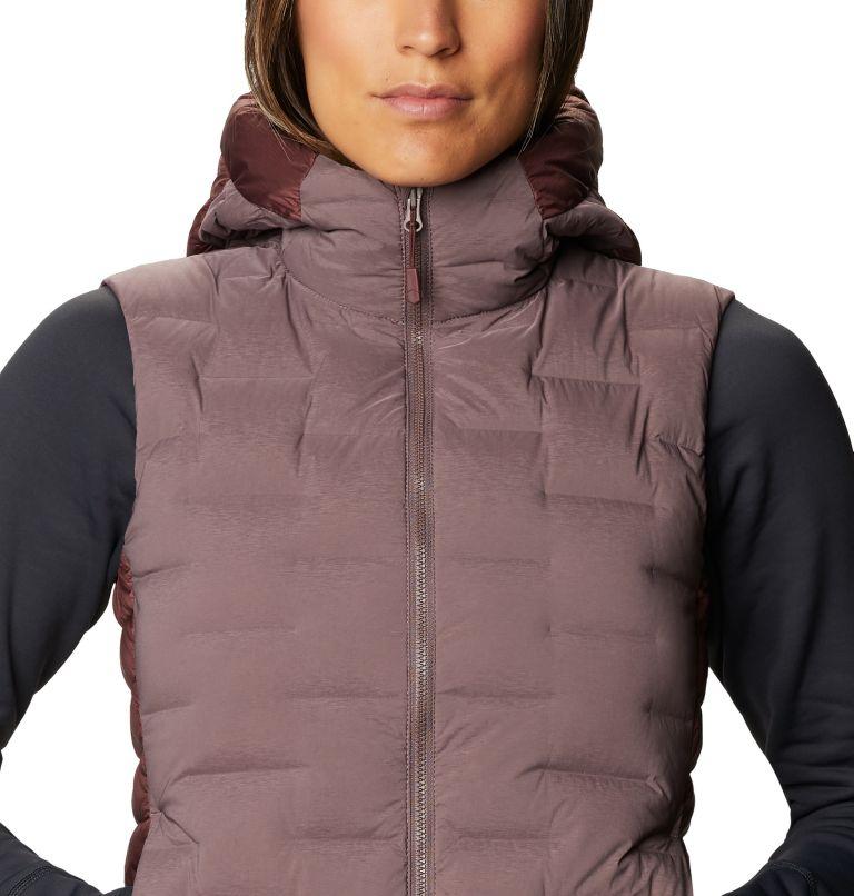 Super/DS™ Hybrid Vest   249   XS Women's Super/DS™ Stretchdown Hybrid Vest, Warm Ash, a2