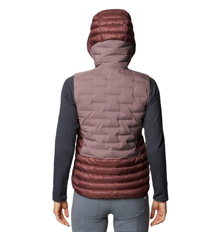Super/DS™ Hybrid Vest   249   XS Women's Super/DS™ Stretchdown Hybrid Vest, Warm Ash, back