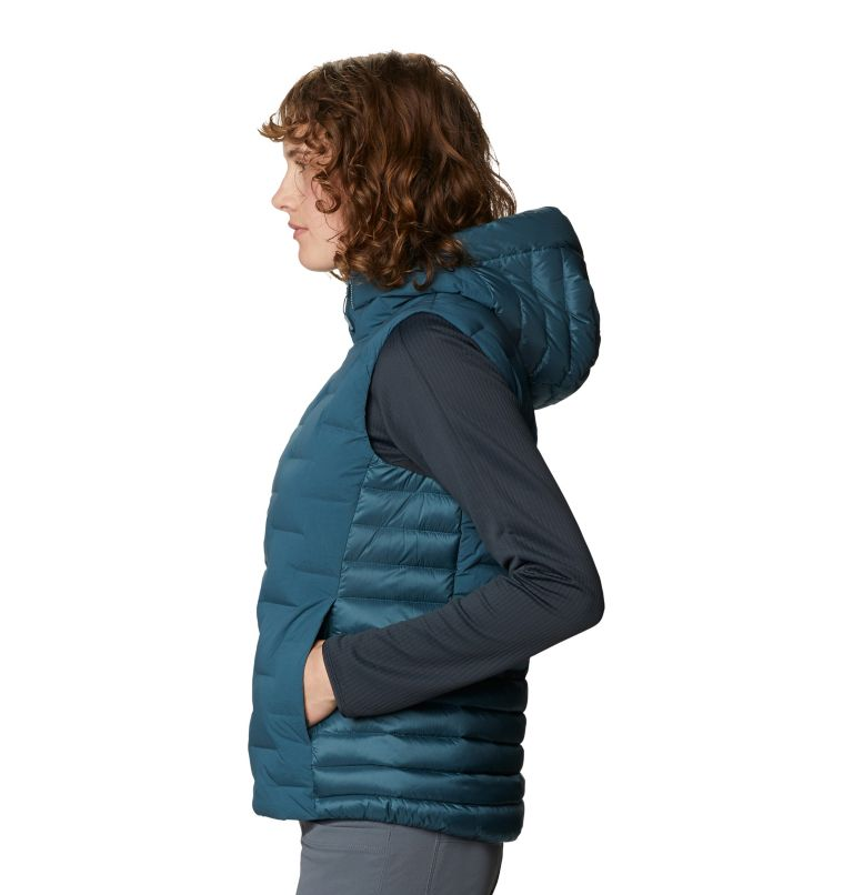 Super/DS™ Hybrid Vest | 324 | L Women's Super/DS™ Stretchdown Hybrid Vest, Icelandic, a1